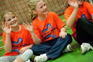 A-star Sports girls having fun