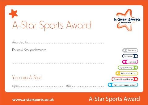 A-Star Sports Award