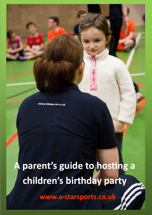 Paren't Guide to hosting a children's birthday party e-book