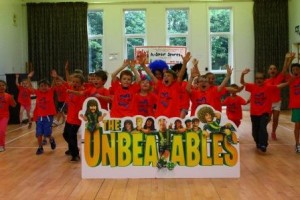 The Unbeatables Lenzie party
