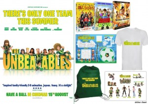 The Unbeatables goodie bag