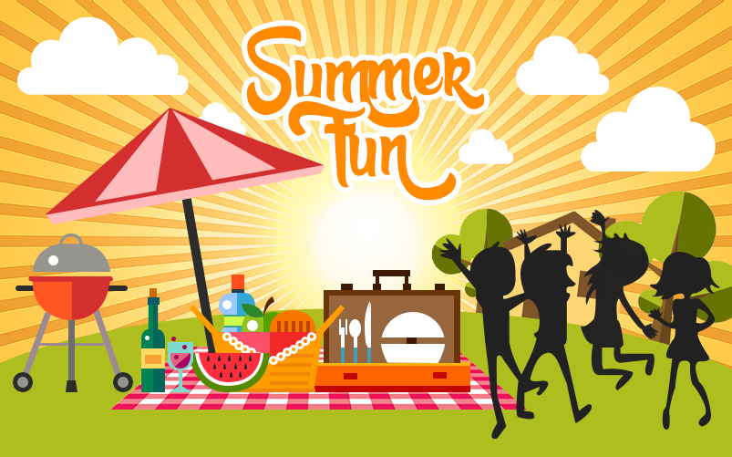 Fun Backyard Sports : Outdoor summer fun