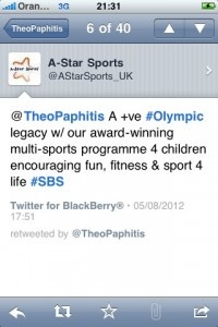 Theo Paphitis retweet